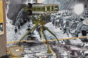 Реактивная установка М-8-8 со снарядами РС-82 Музей Вооруженных Сил в Москве