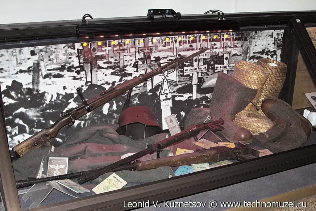 Остатки немецкой армии - Сталинградские трофеи Музей Вооруженных Сил в Москве