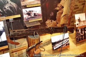 Английский 7,71-мм авиационный пулемет системы Льюиса 1910 года Музей Вооруженных Сил в Москве