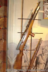 Первый в мире автомат системы Федорова образца 1916 года Музей Вооруженных Сил в Москве