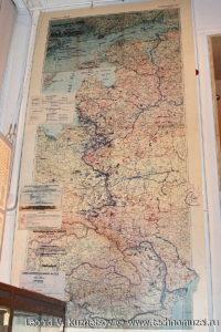Немецкая карта-схема дислокации войск на 20 июня 1941 года Музей Вооруженных Сил в Москве