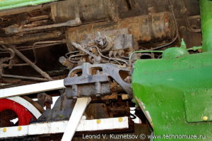 Памятник паровозу П-36 0147 в Шарье