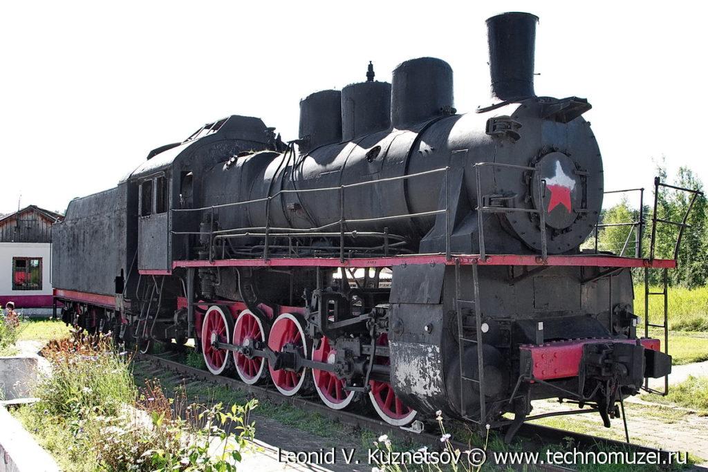 Эм727-57 забытый паровоз-памятник в Угличе
