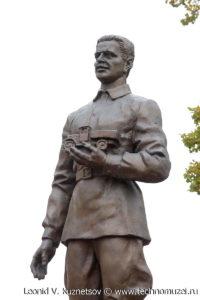 Памятник И.А.Лихачеву на Аллее железнодорожников в Веневе
