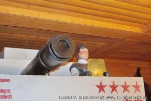 """Танк-печка в кафе """"Алешины лепешки"""" в Ярославле"""