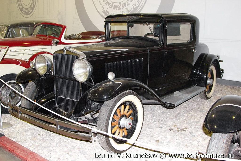 Hupmobile серии S в музее Московский транспорт