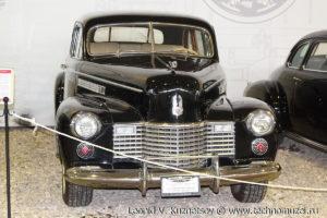 Cadillac 75 Fleetwood седан в музее Московский транспорт