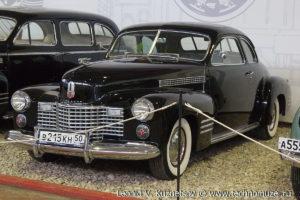 Cadillac 75 Fleetwood купе в музее Московский транспорт