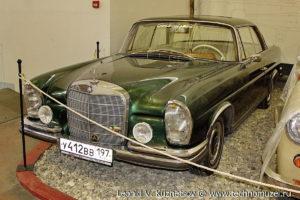 Купе Mercedes-Benz в W111 в музее Московский транспорт