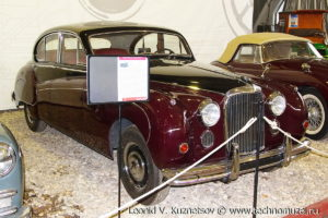 Jaguar Mk IX 1949 года в музее Московский транспорт