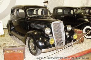 Ford V-8 1935 года в музее Московский транспорт