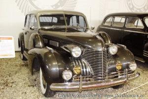 Седан Cadillac Sixty Special 1940 года в музее Московский транспорт