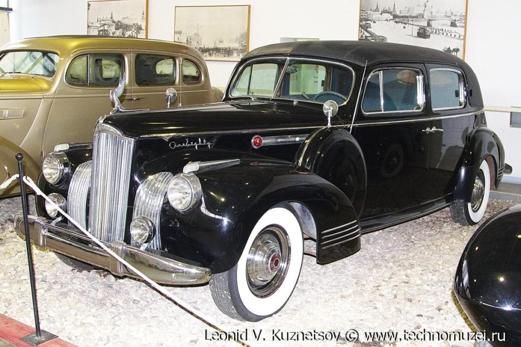Packard 180 1941 года в музее Московский транспорт