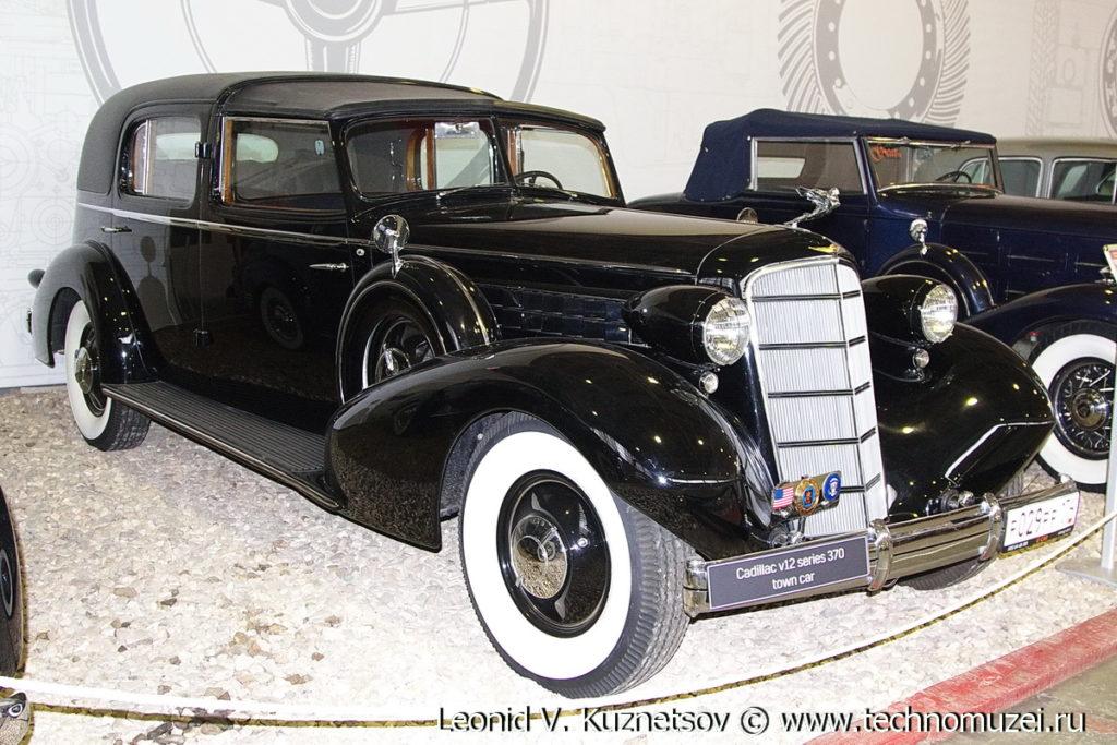 Cadillac 370D Fleetwood в музее Московский транспорт