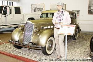 Packard 120 1936 года в музее Московский транспорт