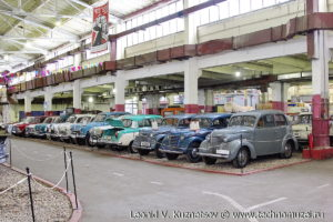 Коллекция АЗЛК в музее Московский транспорт