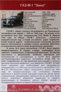 ГАЗ-М-1 в музее Московский транспорт