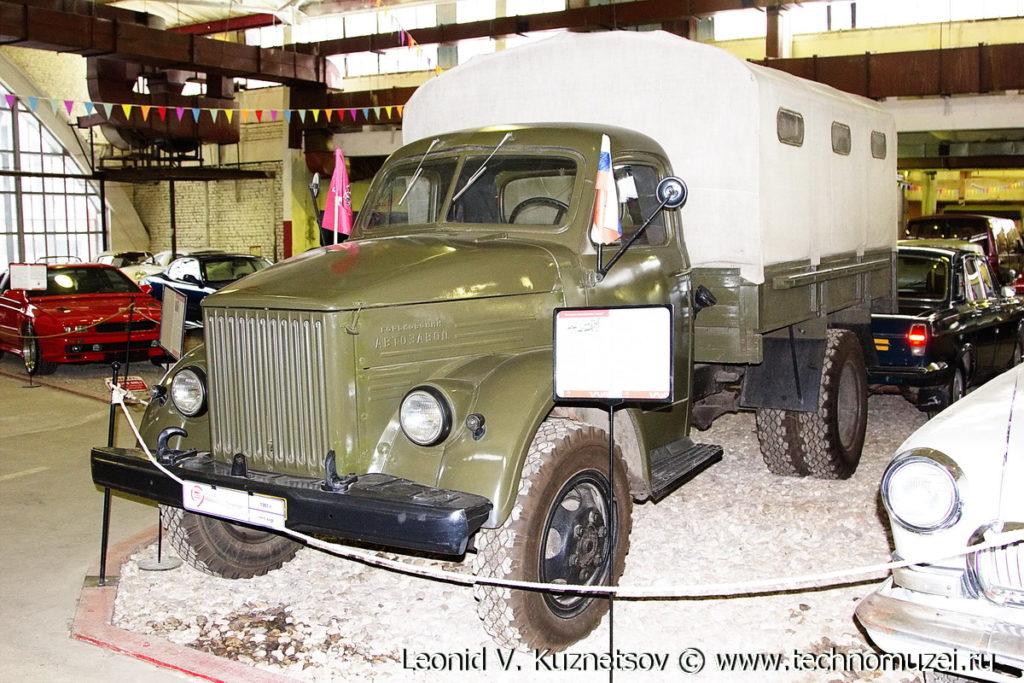 ГАЗ-51Р в музее Московский транспорт