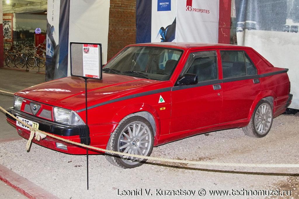 Alfa Romeo 75 в музее Московский транспорт