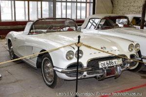 Chevrolet Corvette C1 1960-1961 года в музее Московский транспорт