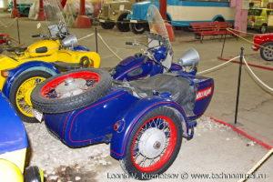 Урал-М66 ГАИ из музея ГИБДД в музее Московский транспорт