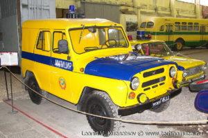 УАЗ-469 ГАИ из музея ГИБДД в музее Московский транспорт