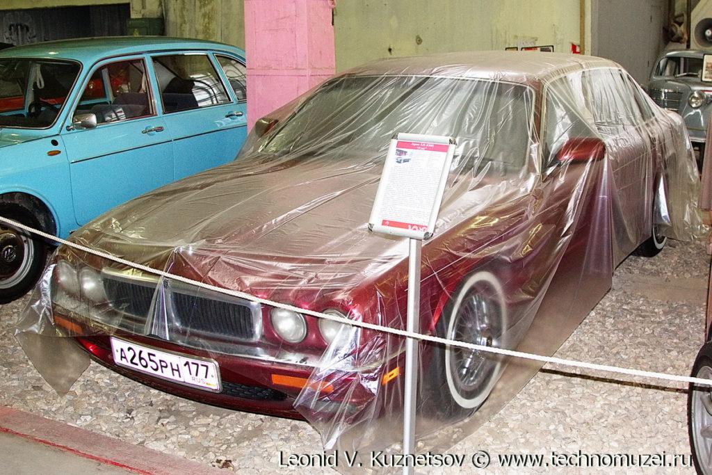 Jaguar XJ6 в музее Московский транспорт
