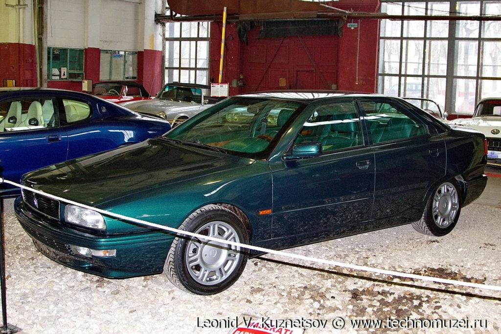 Maserati Quattroporte IV в музее Московский транспорт