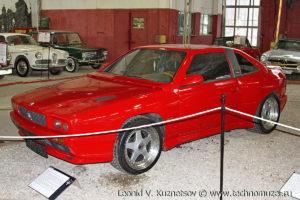 Maserati Shamal в музее Московский транспорт