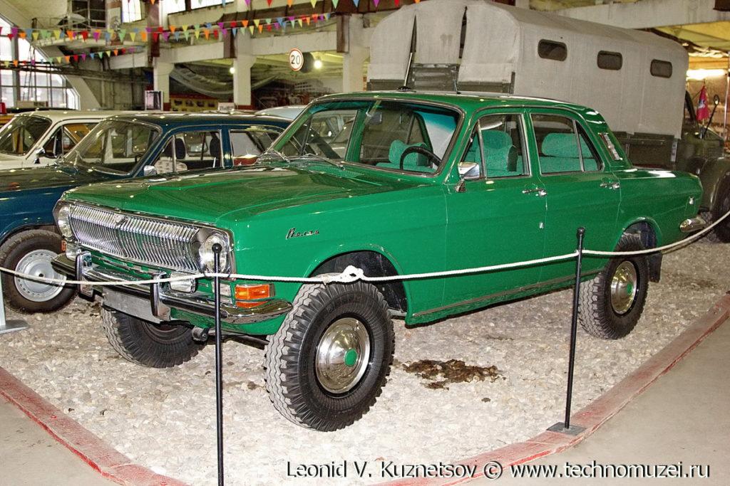 ГАЗ-24-95 в музее Московский транспорт