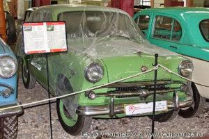 Москвич-407 в музее Московский транспорт