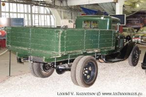 ГАЗ-АА 1934 года в музее Московский транспорт
