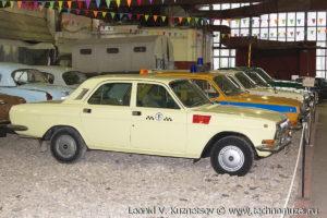 ГАЗ-24-10 такси в музее Московский транспорт