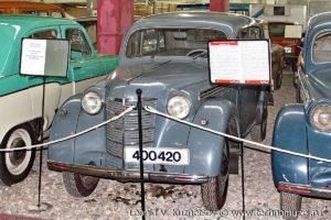 Москвич 400-420 в музее Московский транспорт