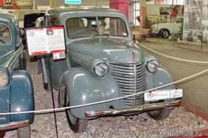 КИМ-10-50 1940 года в музее Московский транспорт