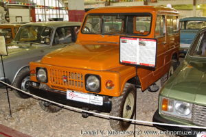 Москвич-2150 1973 года в музее Московский транспорт
