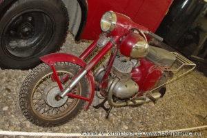 Мотоциклы в музее Московский транспорт