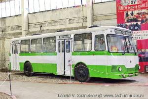 ЛиАЗ-677Б в музее Московский транспорт