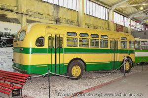 ЗиС-155 в музее Московский транспорт