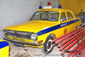 ГАЗ-24 Волга ГАИ из музея ГИБДД в музее Московский транспорт