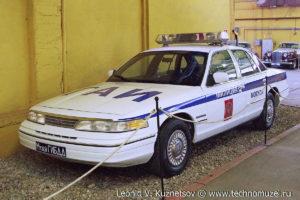 Ford Crown Victoria ГАИ из музея ГИБДД в музее Московский транспорт