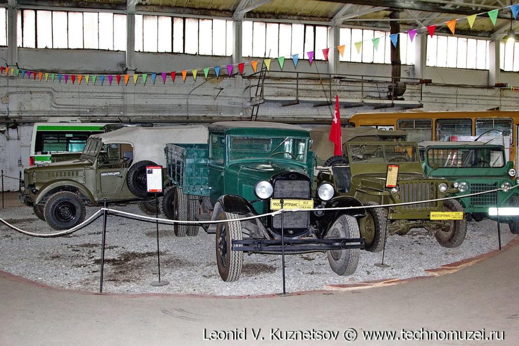 ГАЗ-АА в музее Московский транспорт