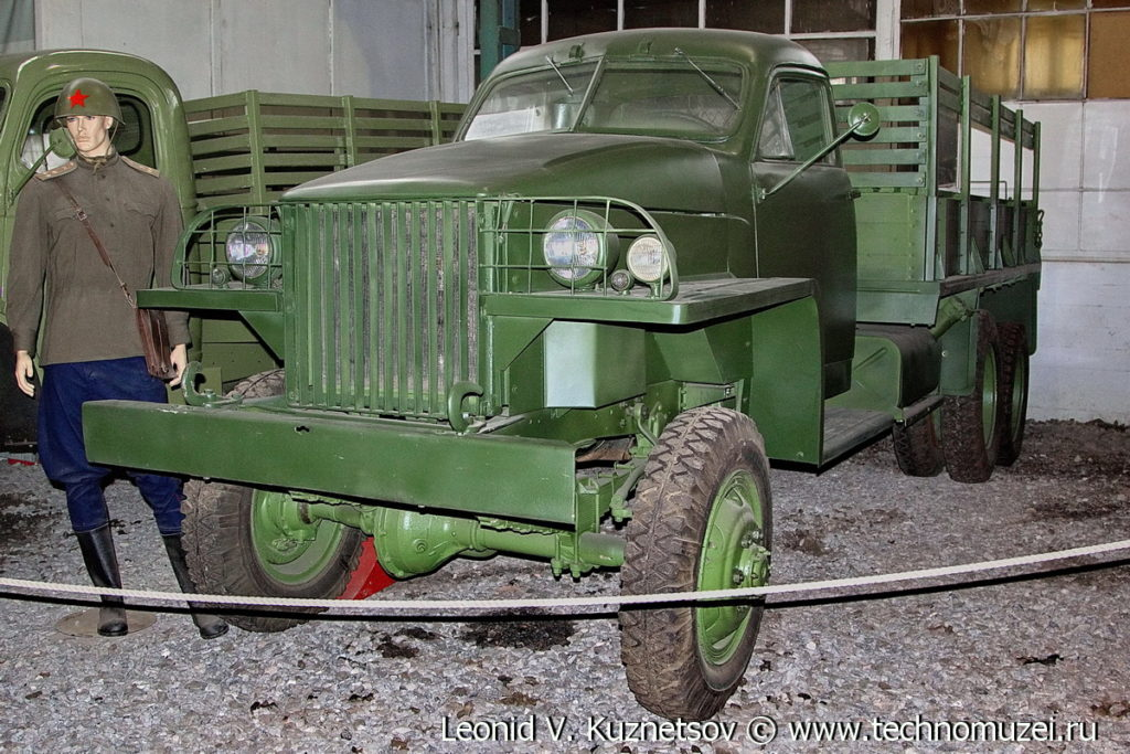 Studebaker US6 в музее Московский транспорт