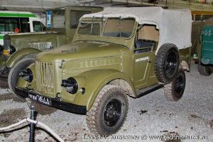 ГАЗ-69 из музея ГИБДД в музее Московский транспорт