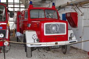 Пожарный автомобиль LF16TS Magirus Deutz 125 из музея ГИБДД в музее Московский транспорт