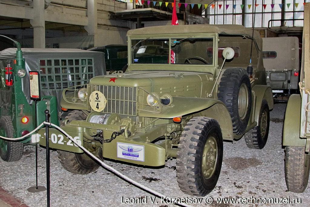 Dodge WC-57 в музее Московский транспорт
