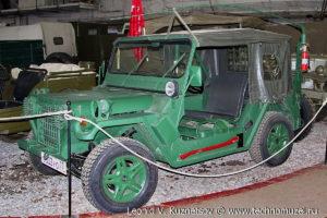 Ford M-151A2 MUTT в музее Московский транспорт