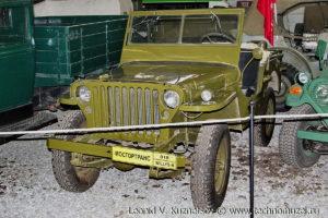 Willys MB в музее Московский транспорт