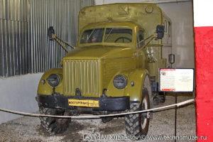 ГАЗ-63 с военным кунгом в музее Московский транспорт