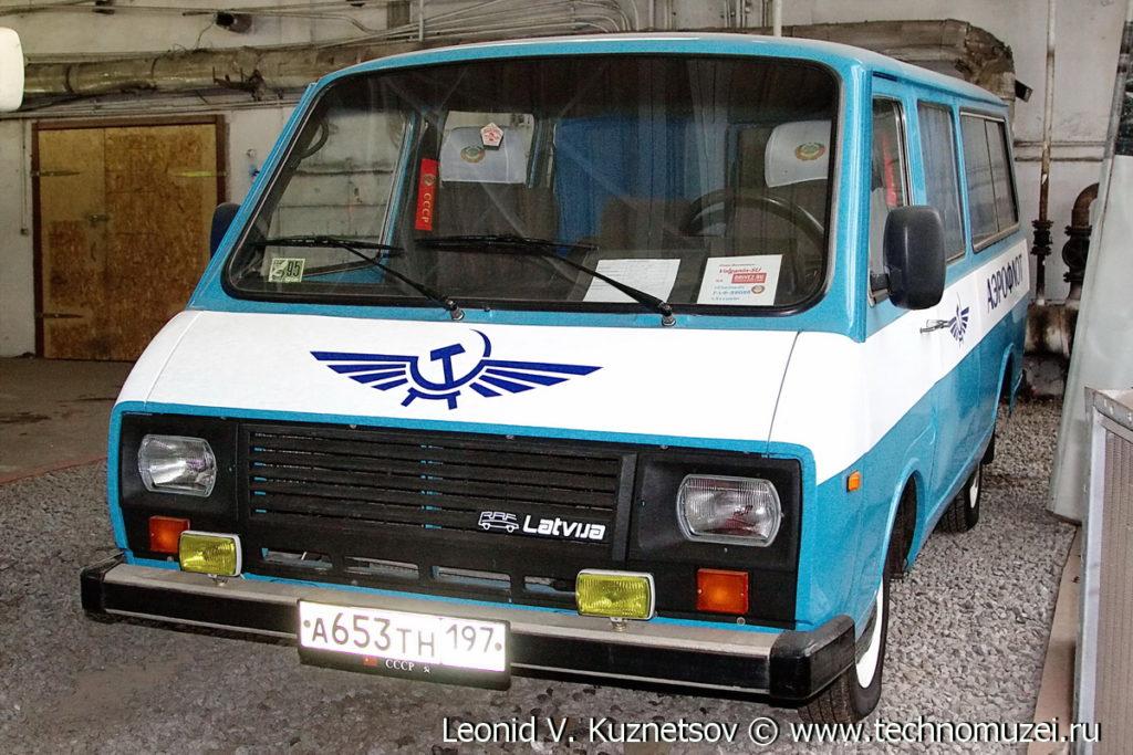 РАФ-22038 в музее Московский транспорт